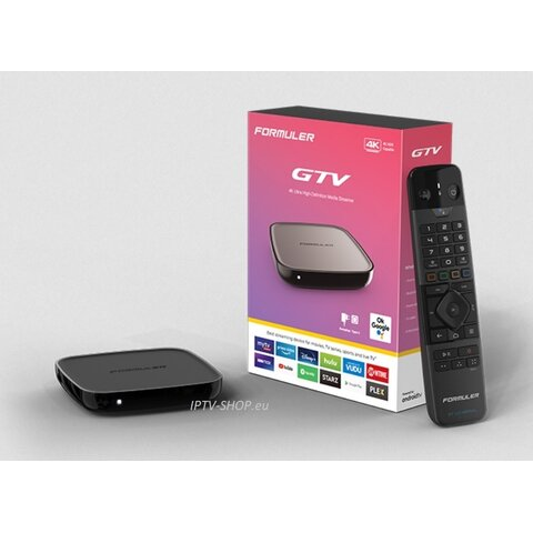 Formuler GTV IPTV