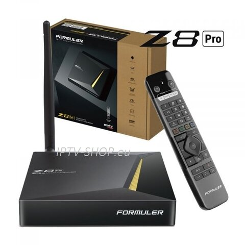 Formuler Z8 PRO Android 4K IPTV