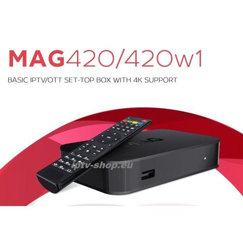 MAG420w1 Infomir IPTV