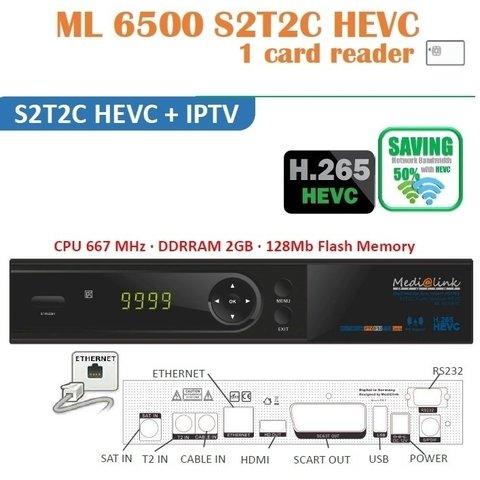 Medialink ML6500 S2T2C HEVC