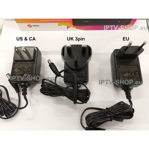 POWER SUPPLY MAG EU/NA/UK