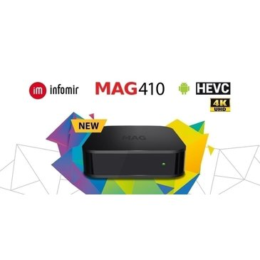 MAG410 Infomir Android 4K
