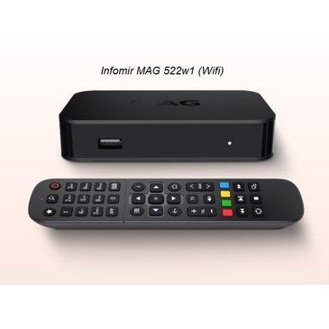 MAG522w1 Infomir 4K Wifi